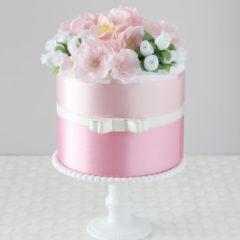 おむつケーキ ミラコロピンク