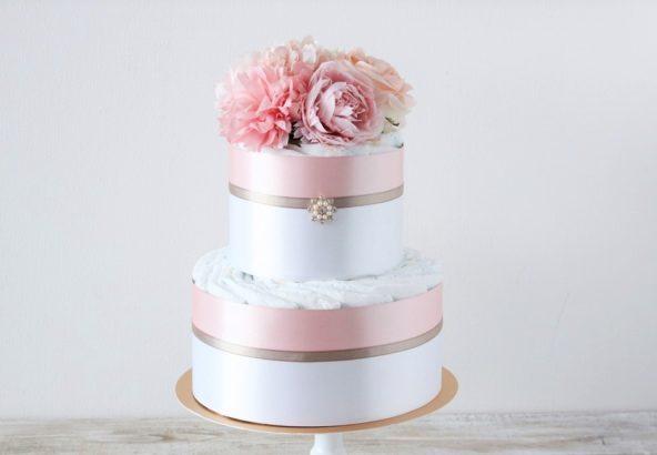 おむつケーキ Marie(マリー)