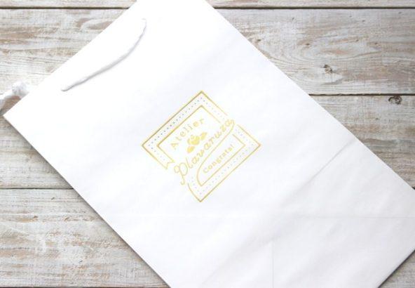 手提げ袋(ダイパーケーキ2段用)