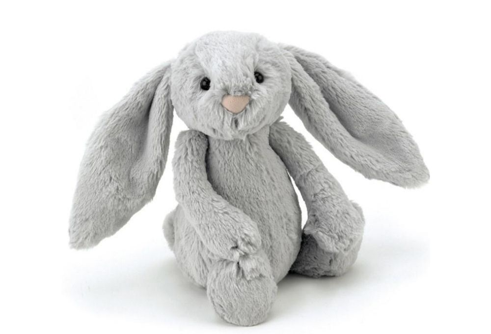 Bashful Silver Bunny Small_BASS6BS