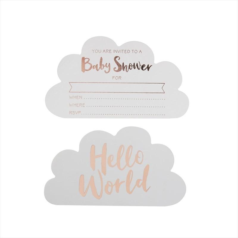 Ginger Ray BABY SHOWER インビテーションカード