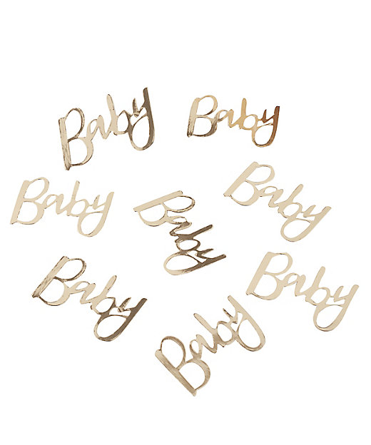 Ginger Ray BABY コンフェッティ
