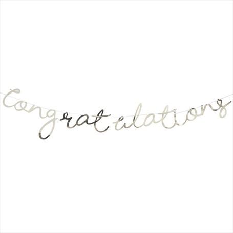 Ginger Ray congratulationガーランド