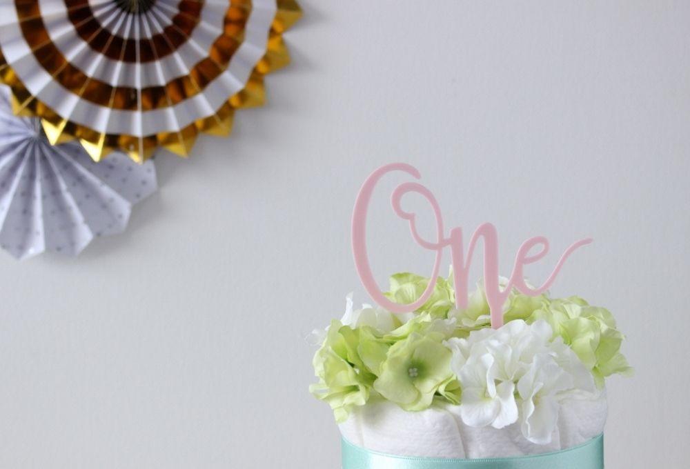 【パーティアイテム】ケーキトッパー One